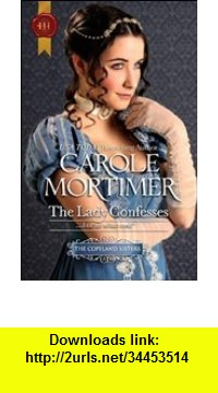 GO Downloads The Lady Confesses Carole Mortimer